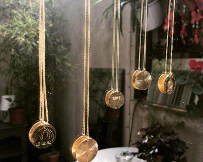 Médailles en Vermeil : collection Voyage et Soleil